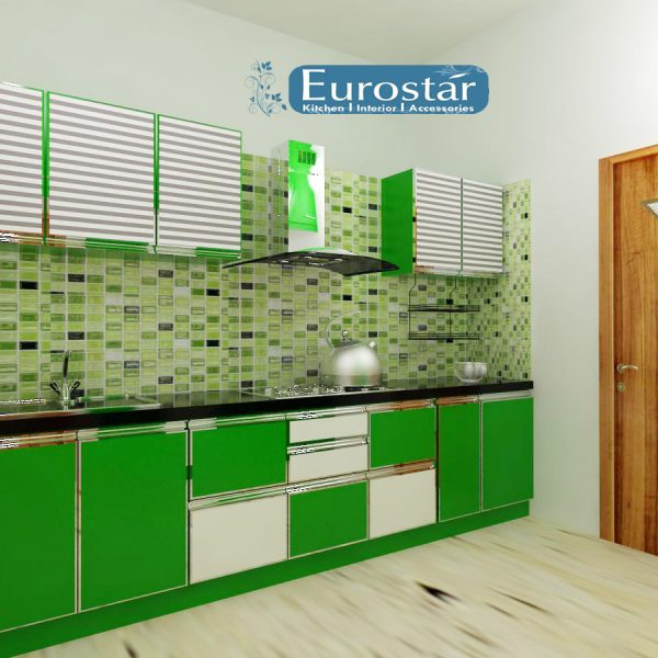 Aluminium Parallel Kitchen in Hyderabad